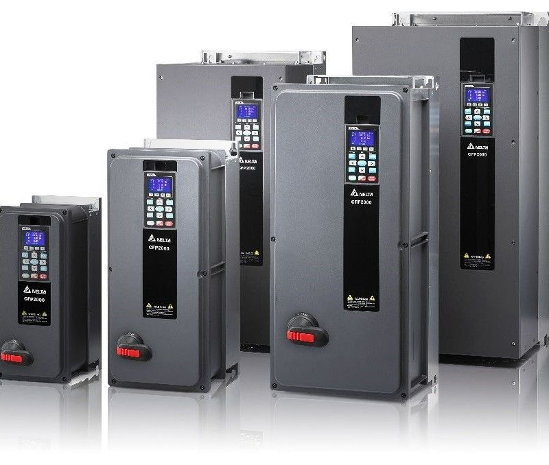 IP55-suojatut taajuusmuuttajat Delta Electronics