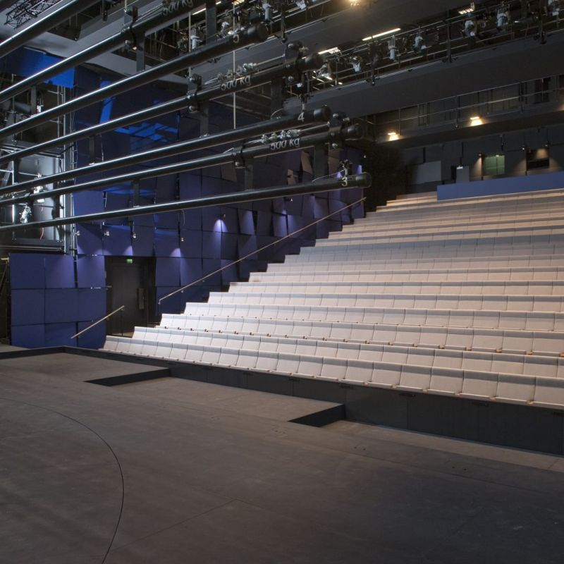 Stage technology turnkey solution for Lappeenranta city theatre